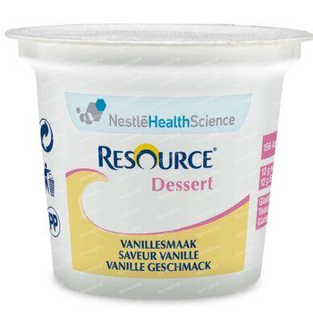 Resource Dessert Vanille 4x125 ml
