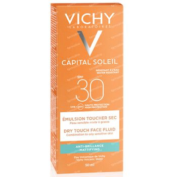 Vichy Capital Soleil Dry Touch Face Fluid SPF30 50 ml