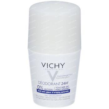 Vichy Deodorant Anti-Transpiratie Droog Effect 24h 50 ml roller