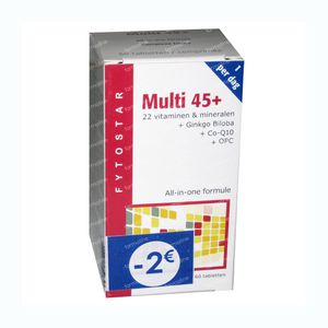 Fytostar Multi 45+ 60 tablets