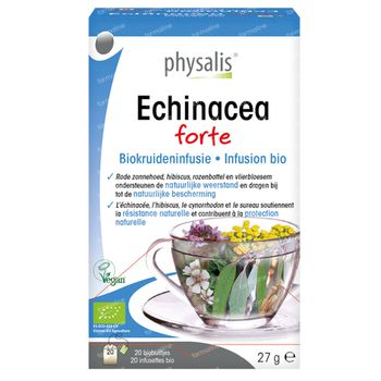 Physalis Echinacea Forte Infusion Bio 20 sachets