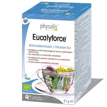 Physalis Eucalyforce Infusion Bio 20 sachets