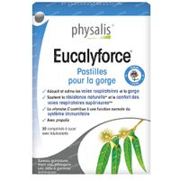 Physalis Eucalyforce 30  comprimés à sucer