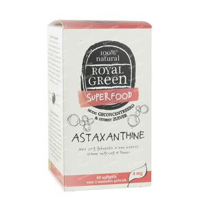 Asthaxantine Royal Green 60 softgels