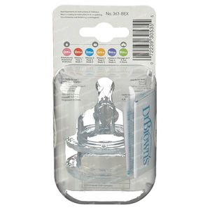 Dr Brown Suction Ripple Silicone 4L 2 unidades