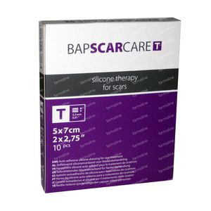Bap Scar Care T 5cm x 7cm 10 pieces