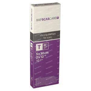 Bap Scar Care T Transparent Silicone Scar Dressing 5cm x 30cm 10 unidades
