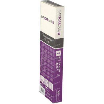 Bap Scar Care T Pansement Silicone Cicatrice Transparent 5cm x 30cm 10 st