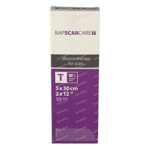 Bap Scar Care T Transparent Silicone Scar Dressing 5cm x 30cm 10 St