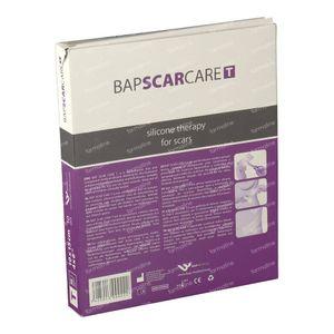 Bap Scar Care T Transparant Siliconen Littekenverband 10X15Cm 601015 10 stuks