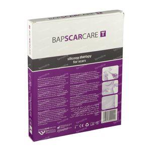 Bap Scar Care T Transparantes Silikonen Narbenverband 10X15Cm 601015 10 st
