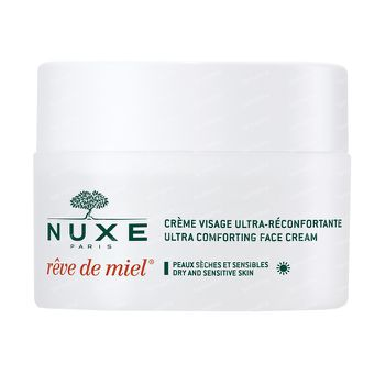 Nuxe Rêve de Miel Crème Visage Ultra-Réconfortante Jour 50 ml
