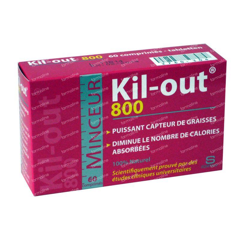 Kil-Out 800 60 comprimés commander ici en ligne | FARMALINE.be