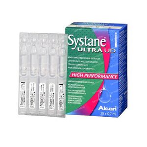 Systane Ultra Gouttes Oculaires Lubrifiantes 30x0,7 ml unidosis