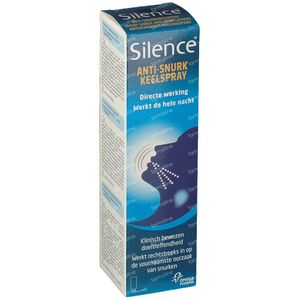 Silence Anti-Snurk Totaal 50 ml spray
