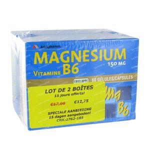 Magnesium B6 Duo 120 capsules
