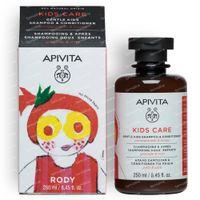 Apivita Kids Shampoo & Conditioner Met Granaatappel & Honing 250 ml fles