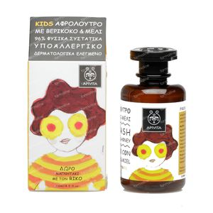 Apivita Kids Body Wash Met Abrikoos & Honing 250 ml fles