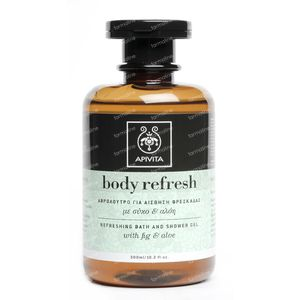Apivita Body Refresh Refreshing Bath & Shower Gel 300 ml bottle