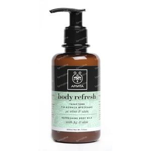 Apivita Body Refresh Verfrissende Body Melk 200 ml fles