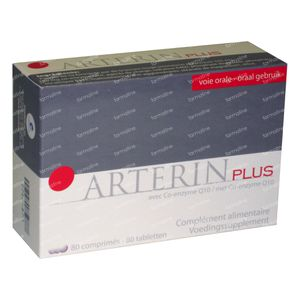Arterin Plus 80  Comprimidos revestidos