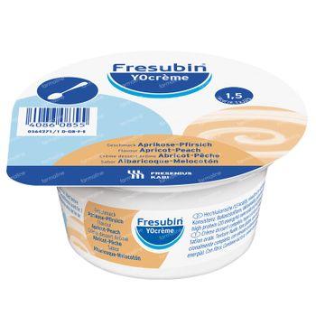 Fresubin Yocreme Abricot/Pêche 4x125 g