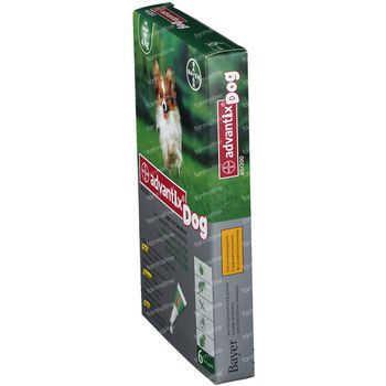 Advantix 40/200 Spot-On Solution Chien <4kg 6x0,4 ml