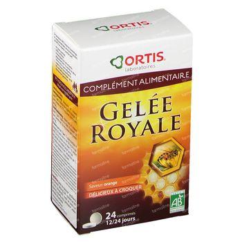 Ortis Gelée Royale Bio 24 kaukapseln