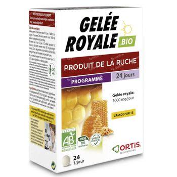 Ortis Gelée Royale Bio 24 comprimés à croquer