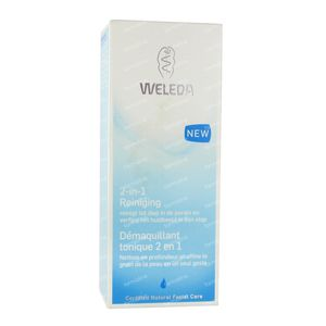 Weleda 2-in-1 Reiniging 100 ml flacon