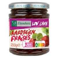 Damhert Dieetconfituur Aardbei Low Carb 210 g