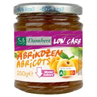 Damhert Dieetconfituur Abrikoos Low Carb 210 g