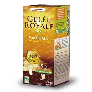 Ortis Gelée Royale Bio Avec Alcool 500 ml