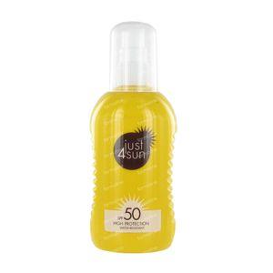 Just4Sun SPF50 Sunspray 200 ml