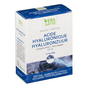 Hyaluronzuur + Zeecollageen 30 capsules