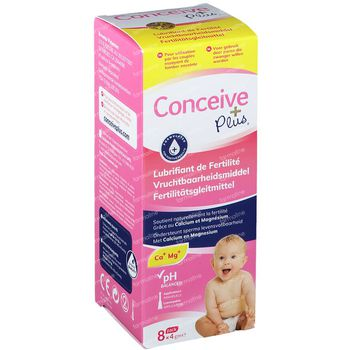 Conceive Plus Fertility Lubricant Pre-Filled Applicator 8x4 g unidosis