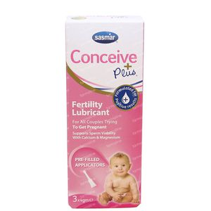 Conceive Plus Fertility Lubricant Pre-Filled Applicator 3x4 g unidosis