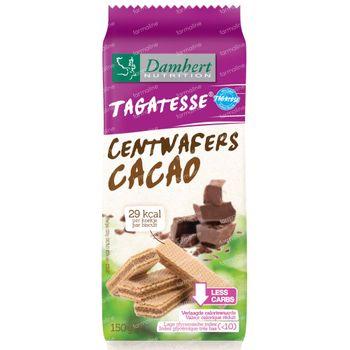 Damhert Centwafers Chocolat tagatose 150 g