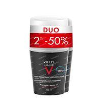 Vichy Homme Deodorant Anti-Transpiratie Anti-Irritatie 48h Duo 2x50 ml