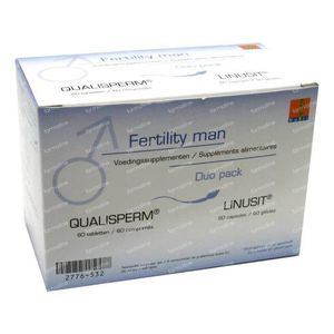 Fertility Man Duo Linusit + Qualisperm 120 tabletten