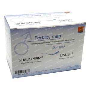Fertility Man Duo Linusit + Qualisperm 120  Comprimidos