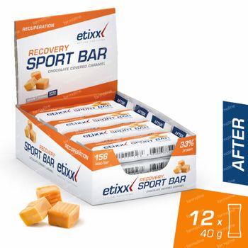 Etixx Recovery + Energy Sport Bar Caramel 12x40 g