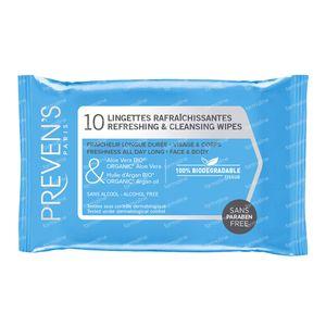 Preven's Tissue Rafraîchissant 10 sachets