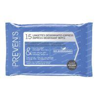 Preven's Tissue Deodorant 15  beutel