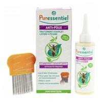 Puressentiel Répulsif Anti-Poux Lotion + Peigne 100 ml