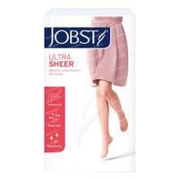 Jobst Ultrasheer Comfort Classe 2 Bas-Cuisse Orteil Fermé Medium Noir Petite Dentelle 1 st