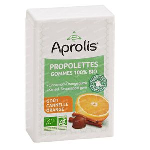 Aprolis Propolettes Kaneel-Sinaas Bio Gom 50 g