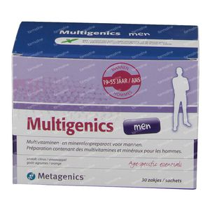 Multigenics men 30 stuks