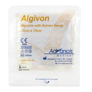 Algivon Alginaat Non-Adhesive 10cm x 10cm 1 St