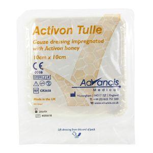 Activon Bandage Non-Adhesive 10cm x 10cm 1 pieza